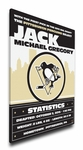 Pittsburgh Penguins Personalized Canvas Birth Announcement - Baby Gift
