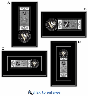 Pittsburgh Penguins Single Ticket Frame