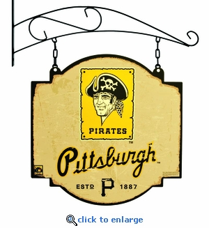 Pittsburgh Pirates 16 X 16 Metal Tavern / Pub Sign