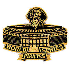 Pittsburgh Pirates 1971 World Series Champions Commemorative Embroidered Patch