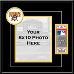 Pittsburgh Pirates 8x10 Photo Ticket Frame