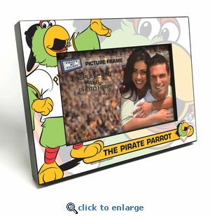 Pittsburgh Pirates Mascot 4x6 Picture Frame - Pirate Parrot