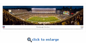 Pittsburgh Steelers - Panoramic Photo (13.5 x 40)