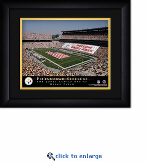 Pittsburgh Steelers Personalized Heinz Field Print