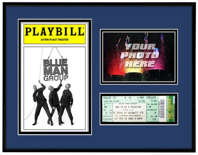 Playbill Ticket Photo Frame