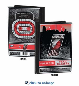 Portland Trail Blazers 4x6 Photo Album / Brag Book