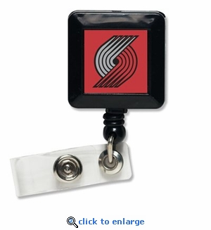 Portland Trail Blazers Retractable Ticket Badge Holder