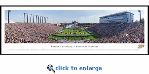 Purdue Boilermakers Football - Panoramic Photo (13.5 x 40)