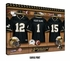 Purdue Boilermakers Personalized Football Locker Room Print