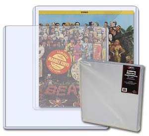 Record Album Topload Holder - 5 Pack