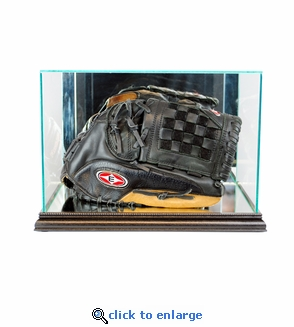 Rectangle Baseball Glove Display Case - Black