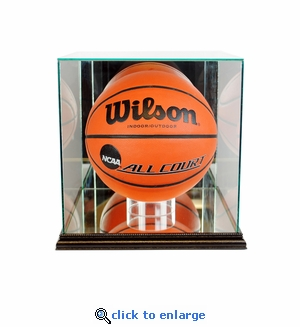 Rectangle Basketball Display Case - Black