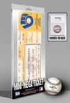 Robin Yount 3,000 Hit Mini-Mega Ticket - Milwaukee Brewers