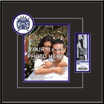 Sacramento Kings 8x10 Photo Ticket Frame