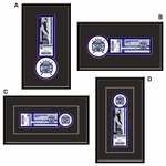 Sacramento Kings Single Ticket Frame