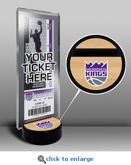 Sacramento Kings Ticket Display Stand