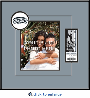 San Antonio Spurs 8x10 Photo Ticket Frame