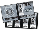 San Antonio Spurs Ticket Album