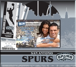 San Antonio Spurs 8x8 Scrapbook - Ticket & Photo Album
