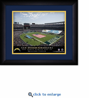 Los Angeles Chargers Personalized StubHub Center Print