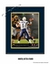 San Diego Chargers Personalized Quarterback Action Print