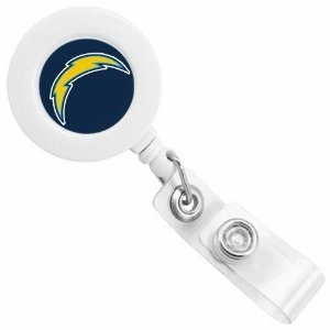 San Diego Chargers Retractable Ticket Badge Holder