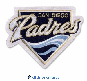 San Diego Padres Embroidered Patch