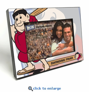 San Diego Padres Mascot 4x6 Picture Frame - Swinging Friar