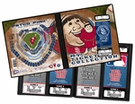San Diego Padres Mascot Ticket Album - Swinging Friar