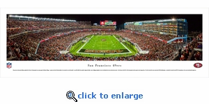 San Francisco 49ers - Levi's Stadium - Panoramic Photo (13.5 x 40)