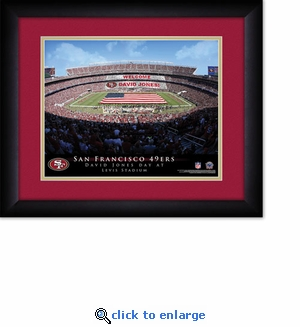 San Francisco 49ers Personalized Levis Stadium Print