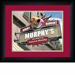 San Francisco 49ers Personalized Sports Room / Pub Print