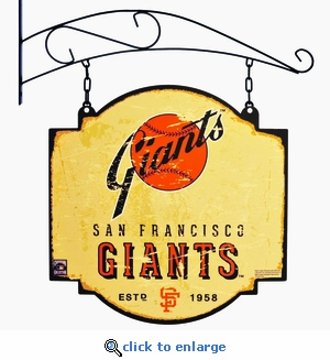 San Francisco Giants 16 X 16 Metal Tavern / Pub Sign