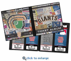 San Francisco Giants Ticket Album