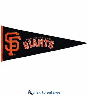 San Francisco Giants Traditions Wool Pennant (13 x 32)