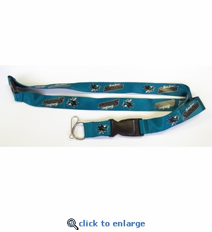 San Jose Sharks NHL Lanyard Key Chain with Ticket Holder