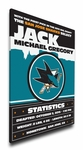 San Jose Sharks Personalized Canvas Birth Announcement - Baby Gift