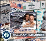 Seattle Mariners 8 x 8 Scrapbook - Ticket & Photo Album