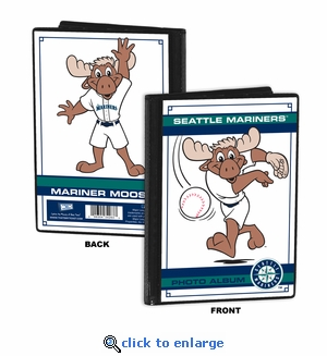Seattle Mariners Mascot 4x6 Mini Photo Album - Mariner Moose