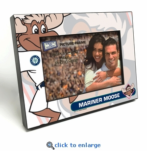 Seattle Mariners Mascot 4x6 Picture Frame - Mariner Moose