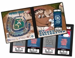 Seattle Mariners Mascot Ticket Album - Mariner Moose