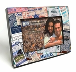 Seattle Mariners Ticket Collage Black Wood Edge 4x6 inch Picture Frame