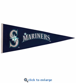 Seattle Mariners Traditions Wool Pennant (13 x 32)