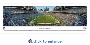 Seattle Seahawks - Panoramic Photo (13.5 x 40)