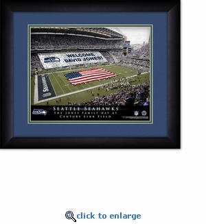 Seattle Seahawks Personalized Century Link Field Print