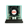 Single Hockey Puck Display Case - Black
