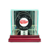 Single Hockey Puck Display Case - Cherry