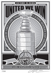 NHL Sports Propaganda Screen Prints / Serigraphs