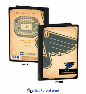St Louis Blues 4x6 Photo Album / Brag Book