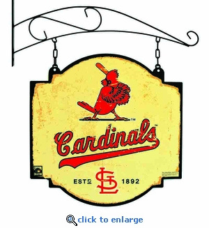 St Louis Cardinals 16 X 16 Metal Tavern / Pub Sign